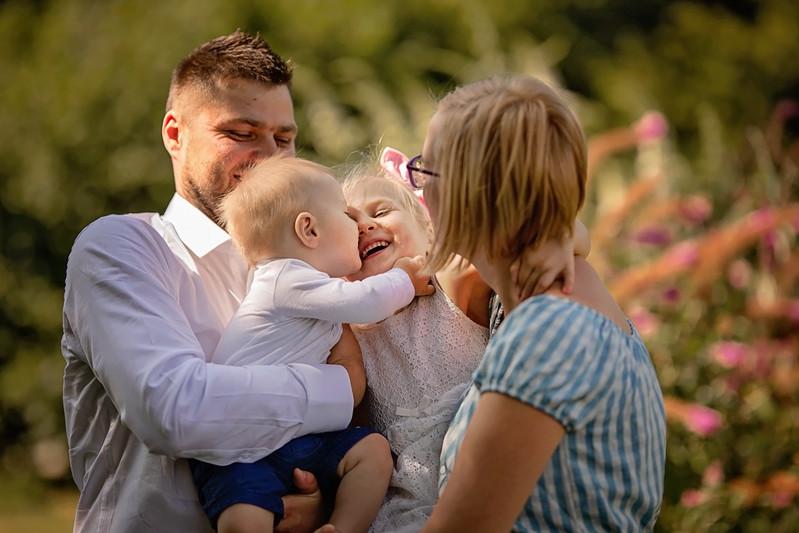Radość i szczęście dzieci
